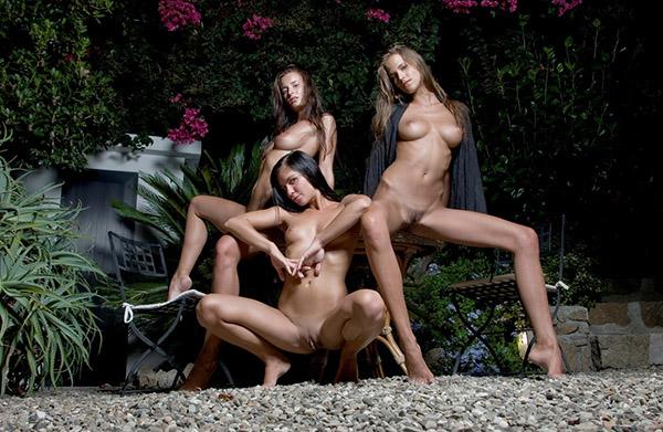 Фото двор эротика