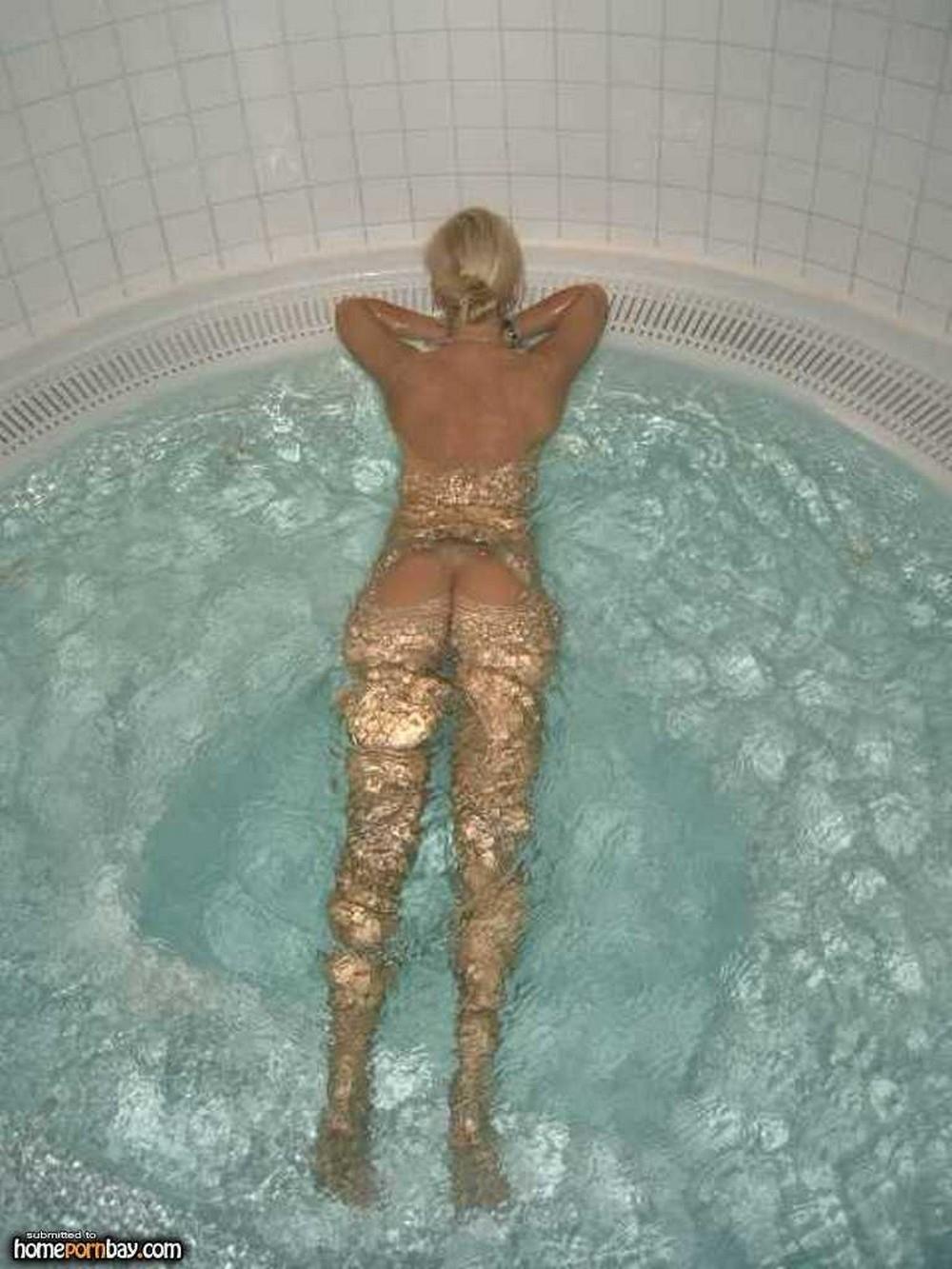 Фото сауне блондинкой эротика