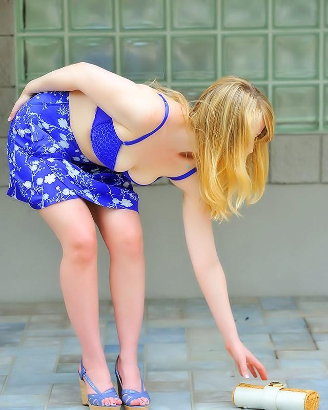 Фото Шлюшка летнем эротика