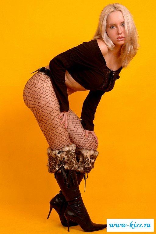 Фото блондинка эротика
